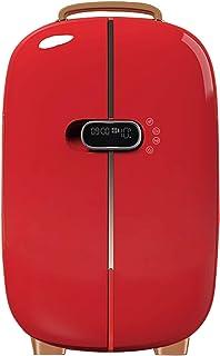 JTJxop Mini Frigo De Chambre, Mini Réfrigérateur Silencieux Mini Réfrigérateur/Glacière Personnel Portatif Rétro, pour Soi...