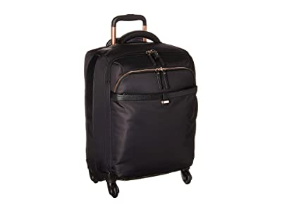 Lipault Paris Plume Avenue 23 Spinner (Jet Black) Luggage