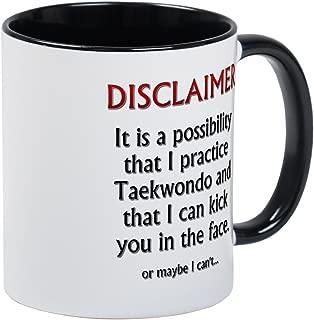 CafePress TKD Disclaimer Mug Unique Coffee Mug, Coffee Cup