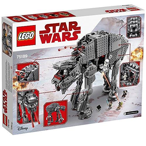 First Order Heavy Assault Walker Marcheur LEGO Star Wars 75189 (1376 pièces) - 3