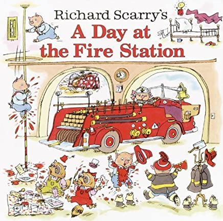 Richard Scarrys A Day at the Fire Station (Pictureback(R)) by Richard Scarry(2003-06-10)
