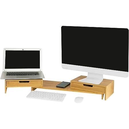 SoBuy®Support de moniteur Réhausseur d/'écran ergonomique,d/'ordinateurFRG249-N,FR