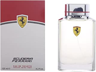Ferrari Scuderia Men Eau De Toilette Spray, 4.2 Ounce