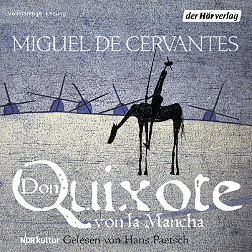 Don Quixote von la Mancha audiobook cover art