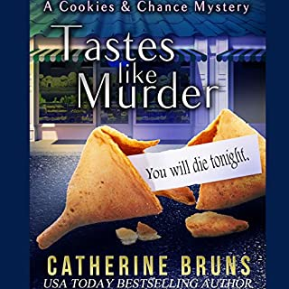Tastes Like Murder     Cookies & Chance Mysteries, Book 1              By:                                                                                                                                 Catherine Bruns                               Narrated by:                                                                                                                                 Karen Rose Richter                      Length: 8 hrs and 44 mins     3 ratings     Overall 4.0
