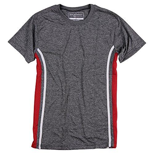 Broadway Bounce Herren Active Shirt Kurzarm - - Mittel