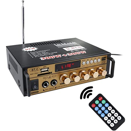 Docooler Hifi Audio Stereo Leistungsverstärker Mini Fm Elektronik