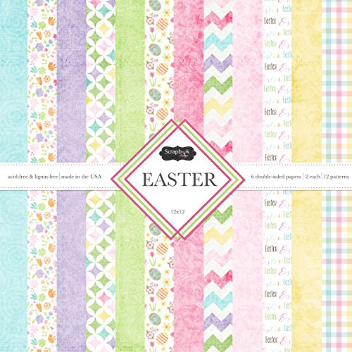 Scrapbook Customs Scrapbook-Set mit Motiven Ostern