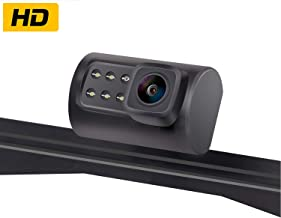 AMTIFO Backup Camera for Cars,RVs,Trucks, Upgraded HD Camera 150 Degree Perfect Viewing Angle Camera Reverse/Front View Switchable ON/Off Guide Lines IP69 Waterproof