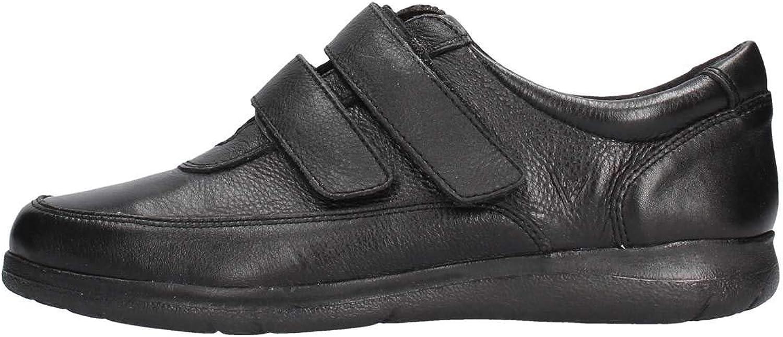 Vallegreen Men's shoes Low Sneakers 36802 Black Size 43 Black