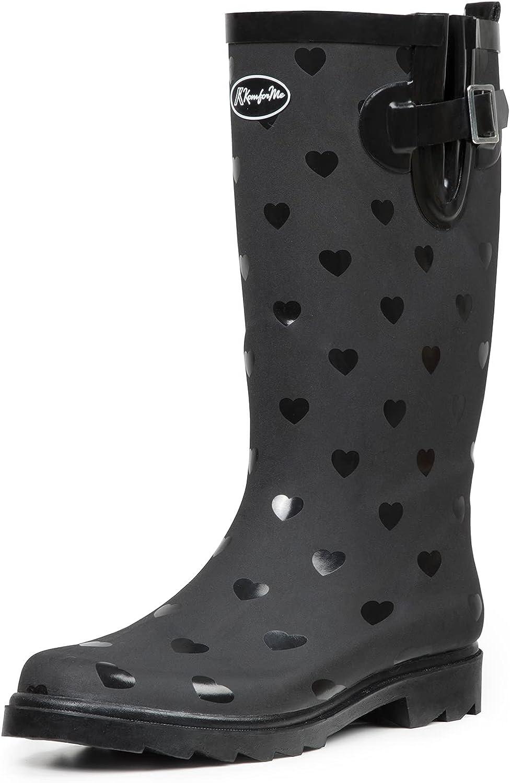 Women Fashion Rain Boots Waterproof Ranking TOP3 Use Garden Outdoor Shoes for Sacramento Mall
