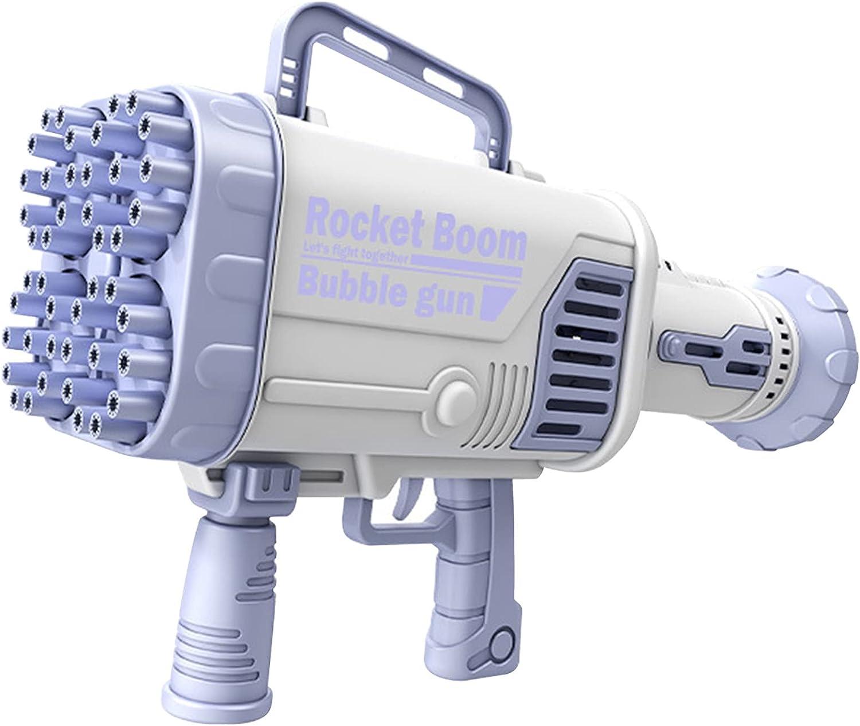 VANLOFE 44-Hole Rocket Launcher Shape Bubble Maker, Bubble Machi