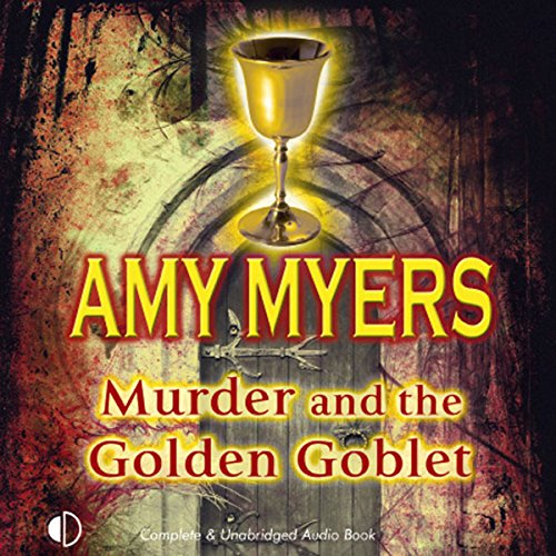 Murder and the Golden Goblet cover art