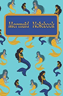 Mermaid Notebook: Under the sea writing book