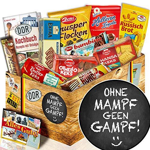 Geschenk Keks / Ostbox / ohne mampf geen Gampf / lustige Sprüche Geschenk