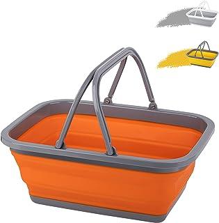سینک ظرفشویی Tiawudi 1 Pc با ظرفشویی 2.25 گال / 8.5 لیتر برای شستن ظروف ، کمپینگ ، پیاده روی و خانه