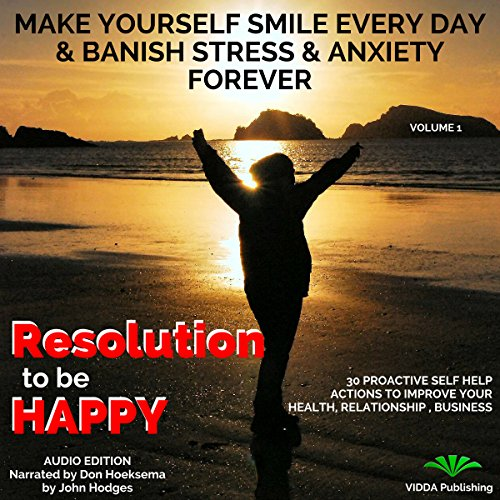 Resolution to Be Happy audiobook cover art