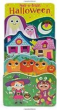 Peek a Bright Halloween (Tall Tiered Board Book)