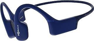 AfterShokz Xtrainerz 完全防水 水中で音楽が聴ける 骨伝導 ワイヤレス mp3プレーヤー ヘッドホン イヤホン 1200曲登録可能 (Sapphire Blue) [並行輸入品]