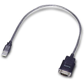 ELECOM USBtoシリアルケーブル USBオス-RS-232C用 UC-SGT1