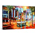 New Orleans' Canal Street Canvas Wall Art Print from CANVAS ON DEMAND