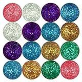 Best Bouncy Balls - Entervending Bouncy Balls - 45mm Glitter Bouncy Balls Review