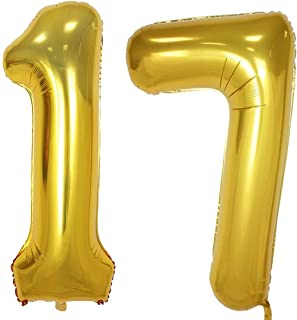 Best number 17 helium balloons Reviews