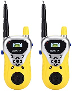 2 Piezas De Walkie Talkies para Niños Radio Toy para Aventuras Al Aire Libre Camping Senderismo