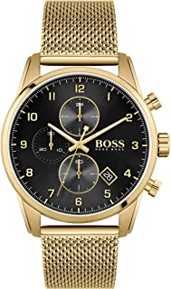 Hugo BOSS Men's Analogue Quartz Watch with Stainless Steel Strap 1513838