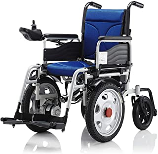 XUHUIXZI Worth Having Lightweight Electric Wheelchair Portable Scooter,Folding Mobility Portable Mobility Handbook