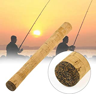 Lumpna Fishing Rod Handle, Split DIY Easy Install Kits Portable Outdoor Gift Composite Cork Soft Repair Spinning Building