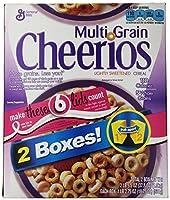 マルチ穀物チェリオス (グルテン フリー) Multi Grain Cheerios (Gluten Free) 海外直送