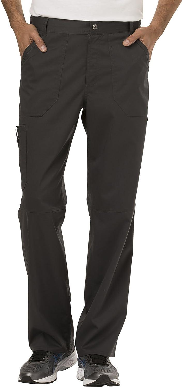 Cherokee Workwear Revolution Men's Fly Front Scrub Pant
