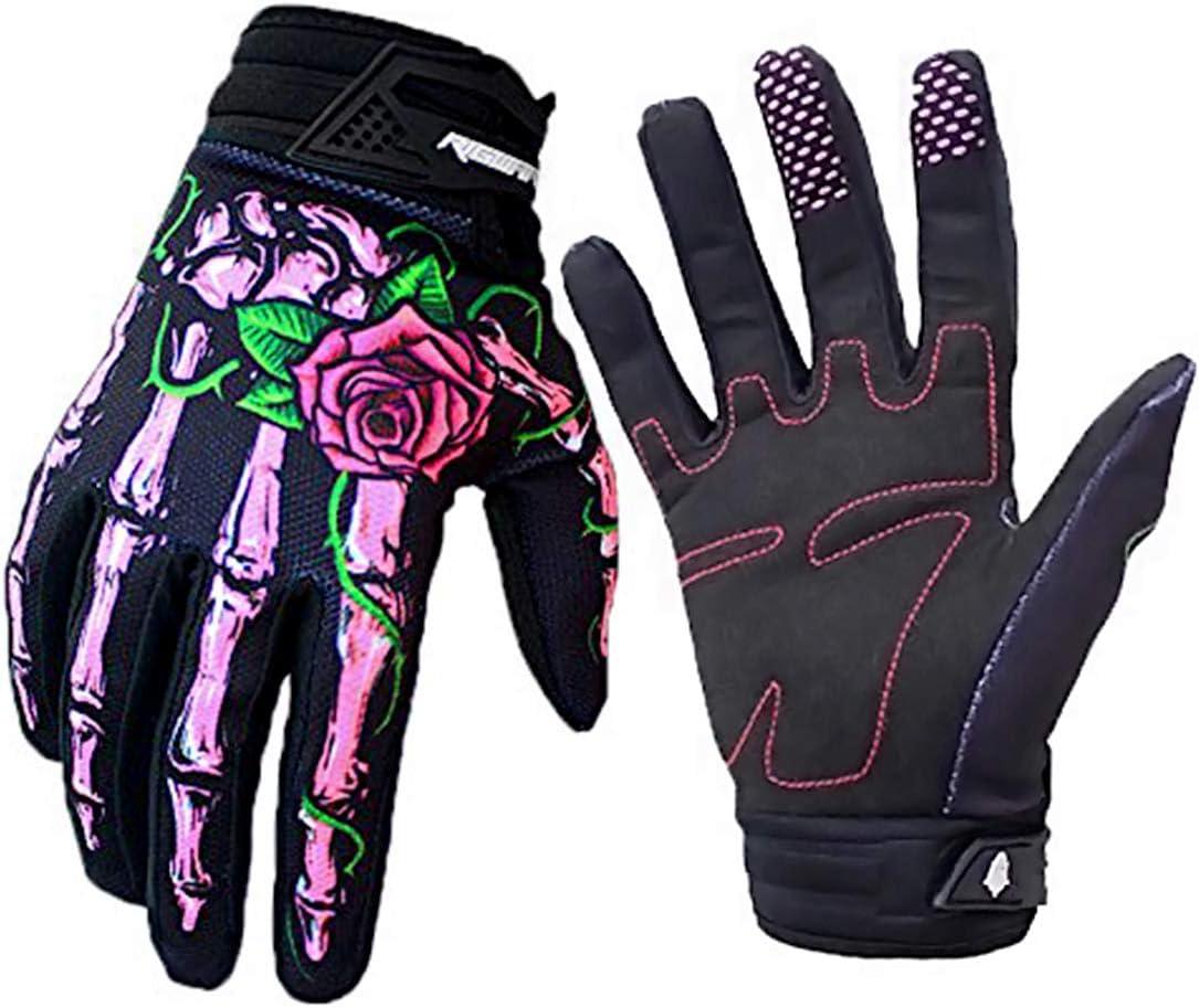 Akemaio Motocross Handschuhe Für Reiter 1 Paar Motorrad Skelett Knochen Motocross Handschuhe Im Freien Windundurchlässigen Wasserdichten Mtb Sport Handschuhen Küche Haushalt
