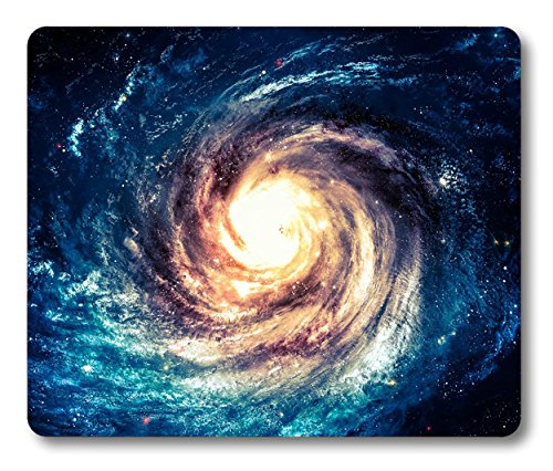 Galaxy Mousepad by Smooffly, Incredibly Beautiful Spiral Galaxy Somewhere in Deep Space Rectangle Non-Slip Rubber Mousepad Gaming Mouse Pad