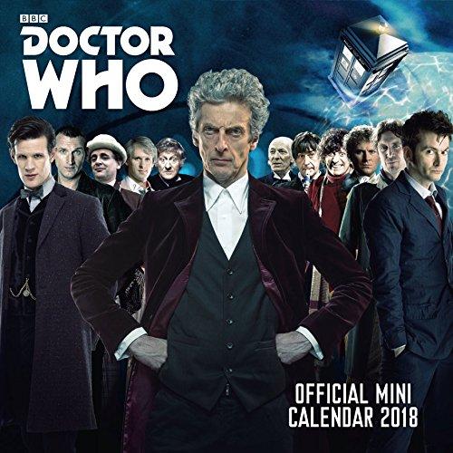 Doctor Who - Official 2018 Mini Calendar