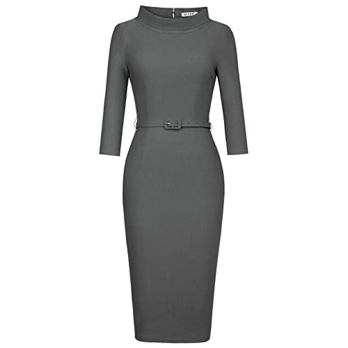 High Collar Dresses for Women