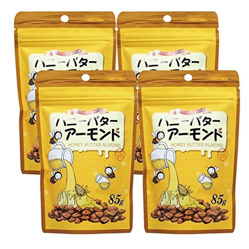 ハニーバターアーモンド85g(4袋セット)