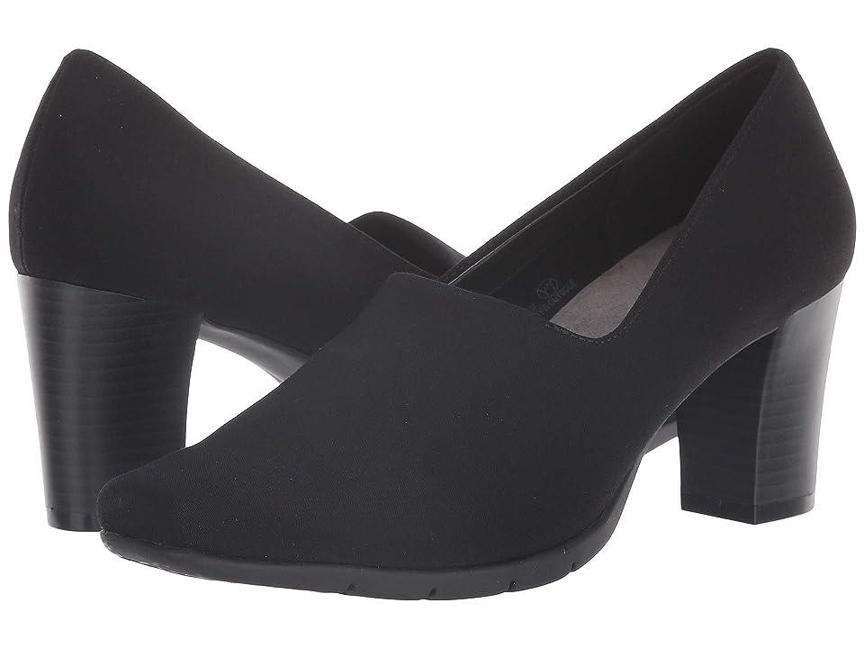 A2 by Aerosoles Monogram (Black Stretch) High Heels