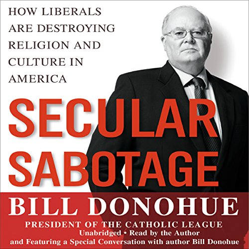Secular Sabotage audiobook cover art