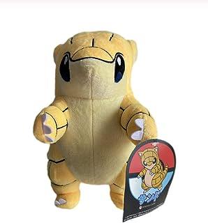 LMSX Juguete De Peluche Pokemon Sandshrew 30Cm, Kawaii Yellow Pangol Anime Character Animal Stuffed Toys para Regalo De Niños