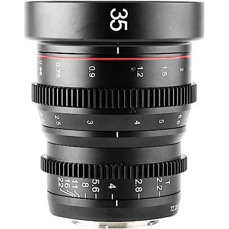 Meike 35mm T2.2 Mini Fixed Prime Manual Focus Wide-Angle Cinema Lens for M43 Micro Four Thirds MFT Mount Cameras BMPCC 4K Z CAM E1 E2 E2C