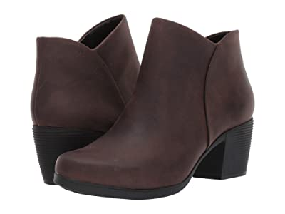 Clarks Un Lindel Zip (Brown Oily Leather) Women