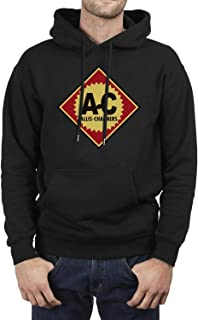 Men's Casual Pullover Hoodie Classic Long Sleeve Hooded Sweatshirt with Pockets-Car Design