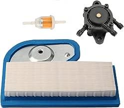 Harbot LX277 M137556 Air Filter with Fuel Pump for John Deere LX277 LX279 LX288 LX280 LT190 LT180 LTR180 GT235 GT235E GX325 325 335 345 Lawn Tractor