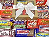 Candy Bar Bliss Gift Box Basket Prime for Chocolate Lovers Sweet Happy Birthday Valentine's Easter...