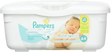 Best pampers sensitive wipes with tub Reviews