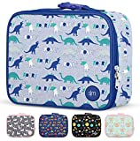 Simple Modern Kids Lunch Box-Insulated Reusable Meal Container Bag for Girls, Boys, Women, Men, Small Hadley, Dinosaur Roar
