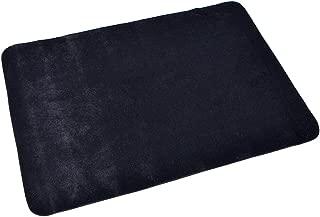 【手品 マジック】クロースアップマット 黒 テーブルマジック カードマット マジックパット トランプマジック専用マット マジック用品 手品道具 (40*60cm)