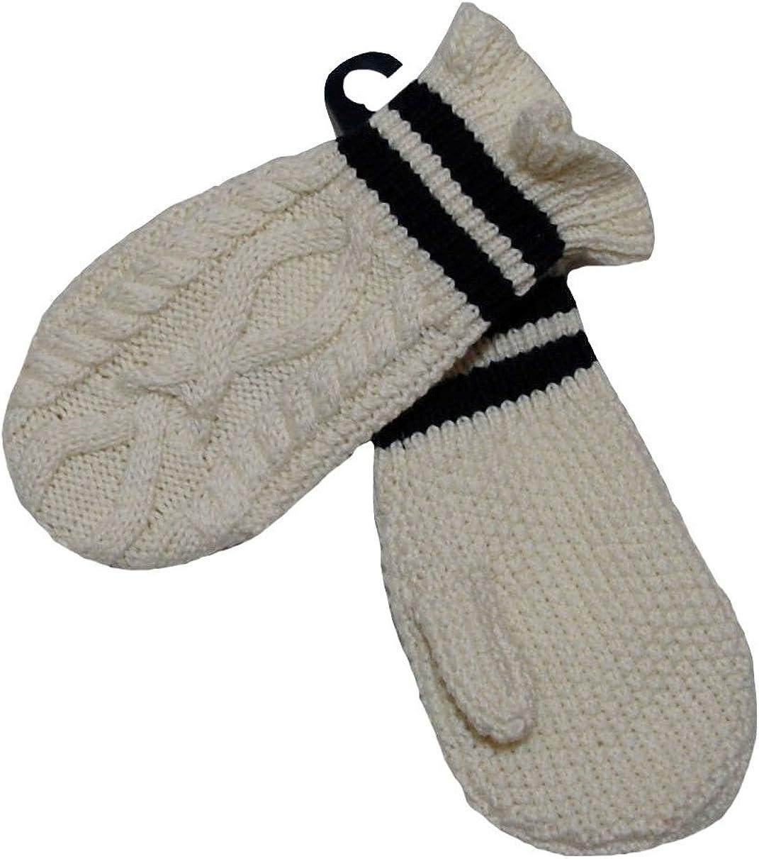 Ralph Lauren Polo Girls Knit Gloves